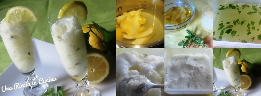 Collage sorbetto